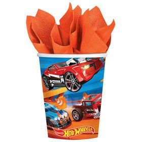 Hot Wheels Wild Racer 9oz Cups (8 Count)