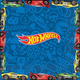 Hot Wheels Wild Racer Luncheon Napkins (16 Count)