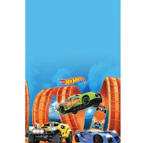 Hot Wheels Wild Racer Plastic Table Cover