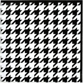 Houndstooth Luncheon Napkins (16)