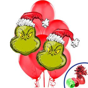 How the Grinch Stole Christmas Jumbo Balloon Bouquet