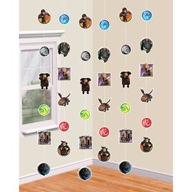 How to Train Your Dragon 6' Hanging String Decorations (6 Pack)