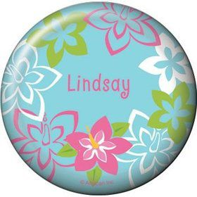 Hula Girl Personalized Button (each)