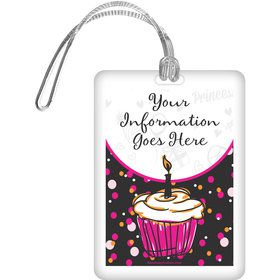 I love Cake Personalized Bag Tag (Each)