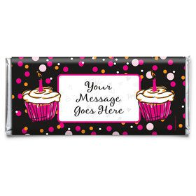 I love Cake Personalized Candy Bar Wrapper (Each)