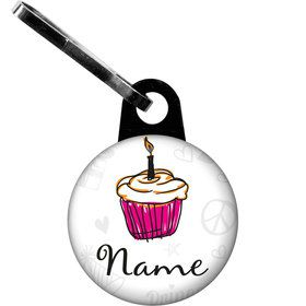 I love Cake Personalized Zipper Pull (Each)