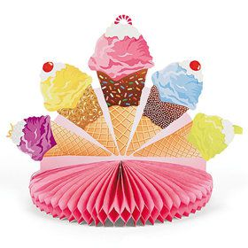 Ice Cream Centerpiece (each)