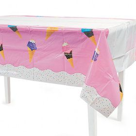 Ice Cream Table cover (each)