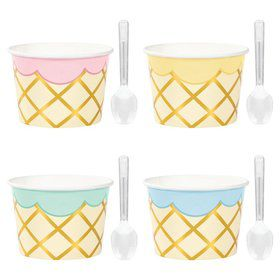 Ice Cream Treat Cups