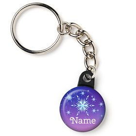 "Ice Princess Personalized 1"" Mini Key Chain (Each)"