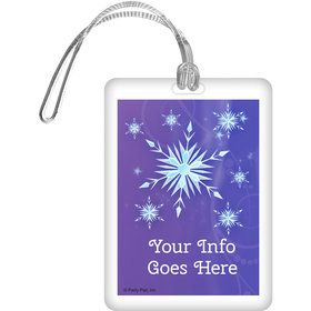Ice Princess Personalized Luggage Tag (Each)