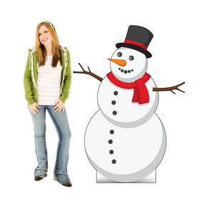 Ilustrated Snowman Standup
