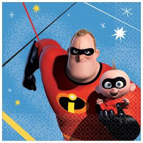 Incredibles 2 Beverage Napkins (16)