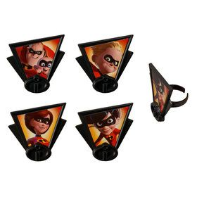 Incredibles 2 Cupcake Rings (12)