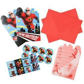 Incredibles 2 Invitations (8)