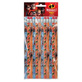 Incredibles 2 Pencil Favors (12)