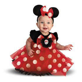 Infant Disneys Red Minnie Mouse Costume