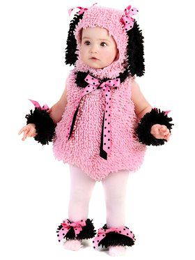 Infant Toddler Pinkie Poodle Costume