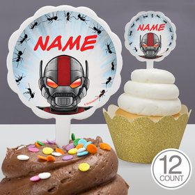 Insect Man Personalized Cupcake Picks (12 Count)