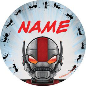 Insect Man Personalized Mini Stickers (Sheet of 24)