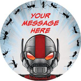 Insect Man Personalized Stickers (Sheet of 12)