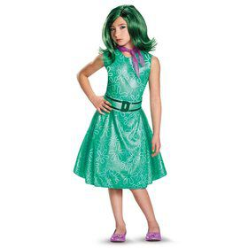 Inside Out Girls Classic Disgust Costume
