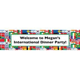International Personalized Banner (Each)