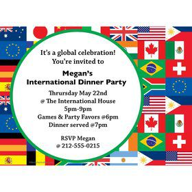 International Personalized Invitation (Each)