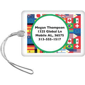 International Personalized Luggage Tag (Each)