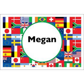 International Personalized Placemat (Each)