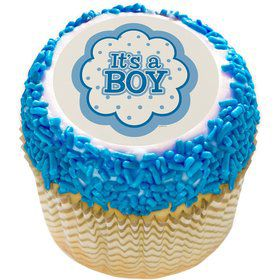 "It's a Boy 2"" Edible Cupcake Topper (12 Images)"