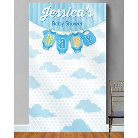 It's a Boy Personalized Photo Backdrop (Each)