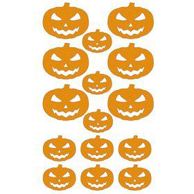Jack O' Lantern Sticker Sheet