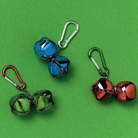 Jingle Bell Backpack Clip (Each)