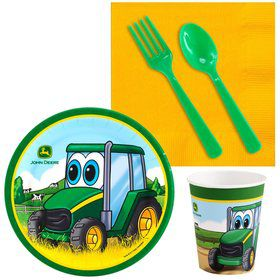 John Deere Johnny Tractor Snack Pack For 16