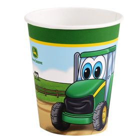 Johnny Tractor 9 oz. Cups (8 Count)