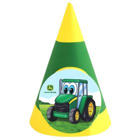 Johnny Tractor Cone Hats (8 Count)