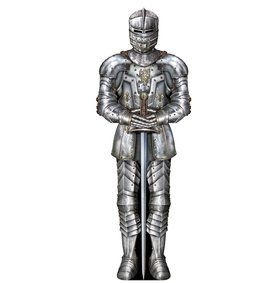 Jointed Suit of Armor Cutout