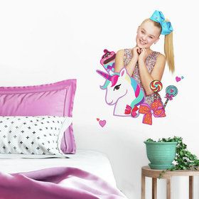JoJo Siwa Unicorn Dream Giant Peel & Stick Decals
