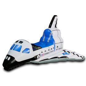Jr. Space Explorer Child Inflatable Space Shuttle One-Size
