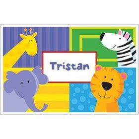 Jungle Animals Personalized Placemat (each)