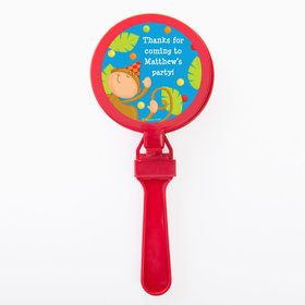 Jungle Birthday Personalized Clappers (Set of 12)