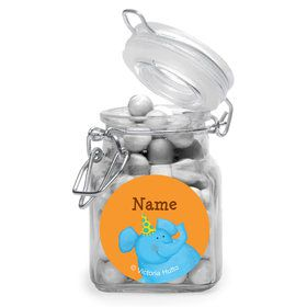 Jungle Birthday Personalized Glass Apothecary Jars (10 Count)