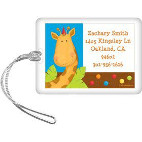 Jungle Birthday Personalized Luggage Tag (each)