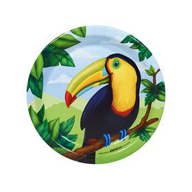 Jungle Party Dessert Plates (8)