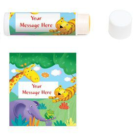 Jungle Party Personalized Lip Balm (12 Pack)