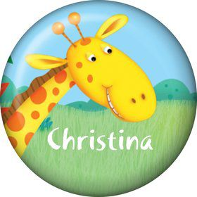 Jungle Party Personalized Mini Button (Each)