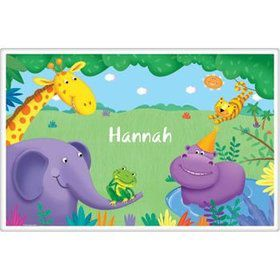 Jungle Party Personalized Placemat (each)