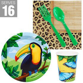 Jungle Party Snack Pack For 16