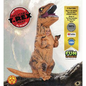 Jurassic Park 2 Boys Inflatable T-rex
